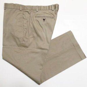 EDDIE BAUER Men's Flat Front Khaki Pants 40/30